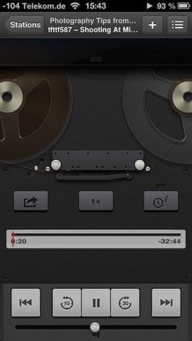 Apples Podcast App