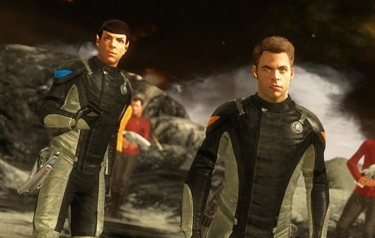 Star Trek - The Game: Spock & Kirk im Launch Trailer