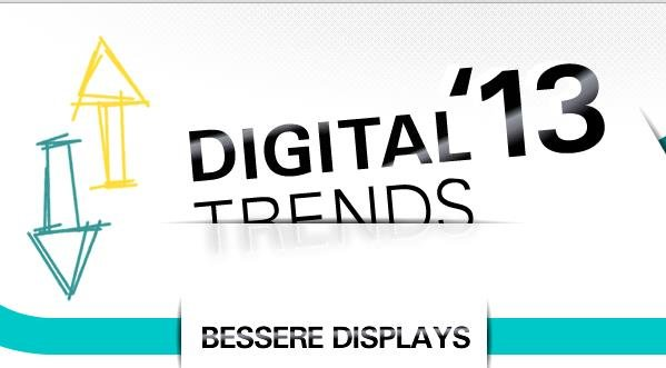 Digitale Trends 2013: Was uns noch alles erwartet (Infografik)