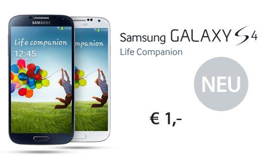 Samsung Galaxy S4 oder HTC One für 39,99€ mit Allnet und Internet Flat