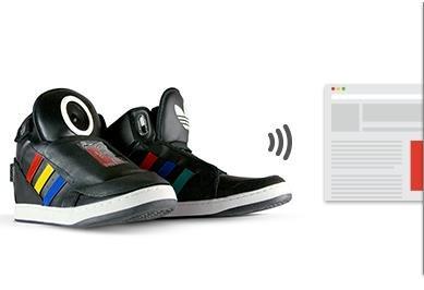 Googles sprechender Schuh: Die Kleidung der Zukunft?