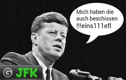 JFK: Sicherheit geht vor - 2-Schritt-Sicherung und Facebook-Fanseiten