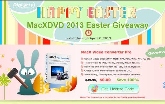 Video Converter Pro kostenlos für Mac in der MacX Oster-Aktion