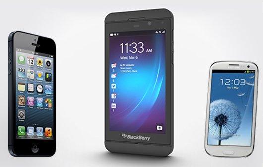 BlackBerry Z10: Viele Neukunden wechseln von iOS und Android