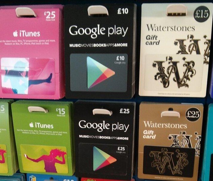 Google Play: Prepaid-Karten  erscheinen endlich in Europa