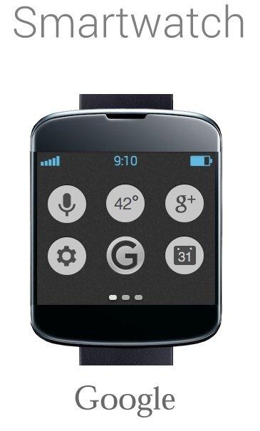Google Smartwatch kleiner
