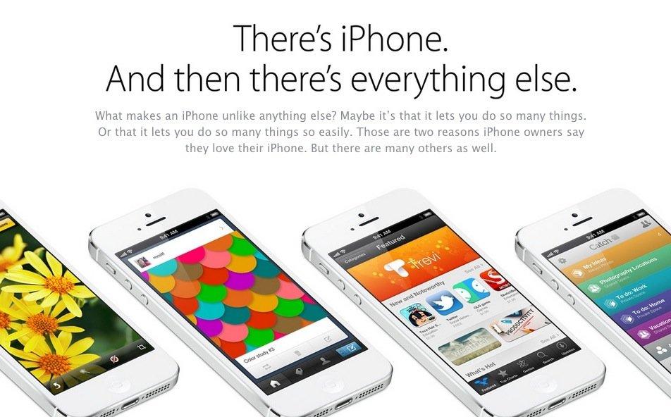 Apple: Neue iPhone-Website mit viel Eigenlob