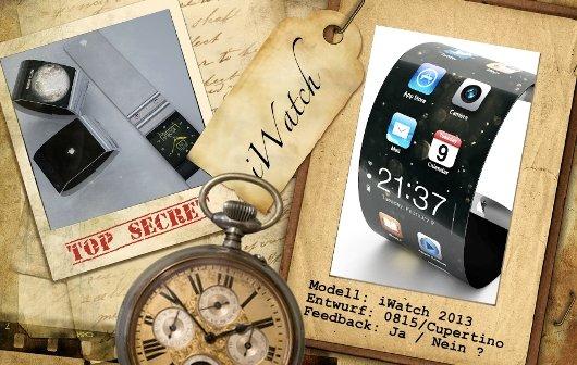 iWatch: 10 Designstudien der Armbanduhr von Apple
