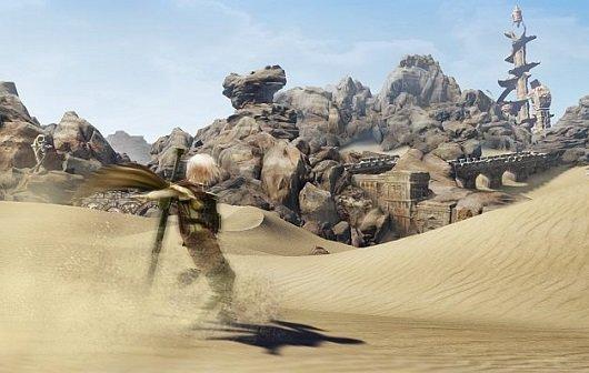 Lightning Returns - Final Fantasy XIII: Neue Screenshots zeigen Wüstengebiet