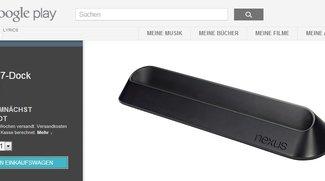 Nexus 7 Dockingstation jetzt im Play Store erhältlich
