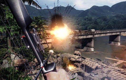 Rambo - The Videogame: Nutzt die originalen Soundaufnahmen der Filme