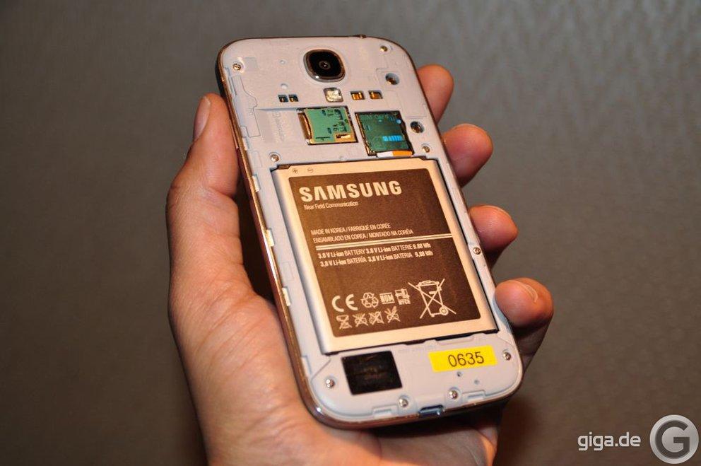 Samsung Galaxy S4 Akkutest - Nicht berauschend aber auch nicht schlecht