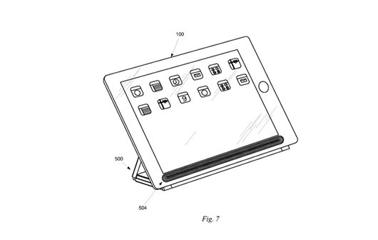 Interessanter Patentantrag: iPad per Induktion mit Smart Cover laden