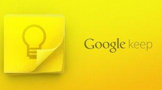 Google: Notizservice Keep mit eigener App gestartet
