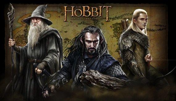 Browsergames Strategie: Der Hobbit Screenshot