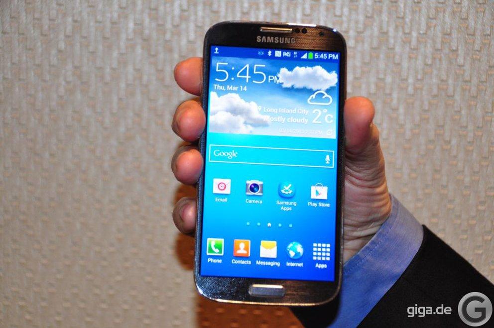 16 GB Version des Samsung Galaxy S4 hat nur 9 GB freien Speicher
