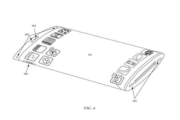 Apples Patent-Skizze