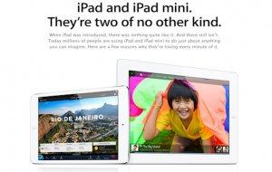 Apple startet Werbe-Website jetzt auch fürs iPad und iPad mini