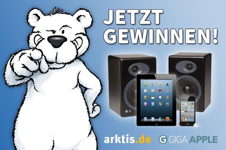 Das große Arktis-GIGA-Gewinnspiel: iPads und Zubehör abstauben (Update: Gewinner)