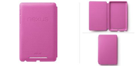 Nexus 7-Abdeckung Pink