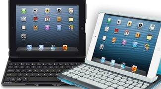 iPad-Tastaturhüllen: Belkin und Logitech mit neuen Modellen am Start