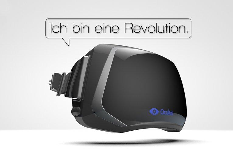 Offenbar Offenbarung: Die ersten Oculus Rift Test-Videos sind da