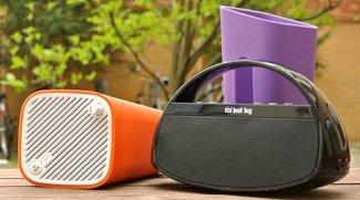 Bluetooth-Lautsprecher für unterwegs: tizi beat bag und sonoro GoNewYork im Test