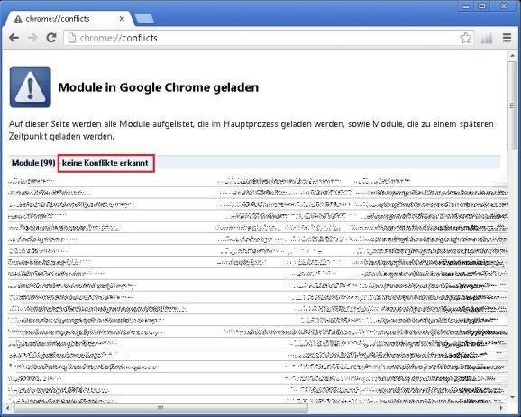 Google Chrome stürzt immer ab