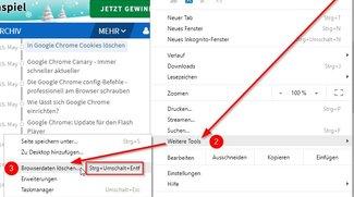 Den Google Chrome Cache leeren – automatisch und manuell