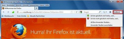 Firefox Beta Backup