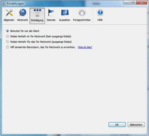Firefox Tor Browser Netzwerk