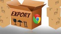 Google Chrome exportieren und alles sichern