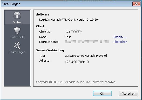 VPN Client Freeware: Hamachi