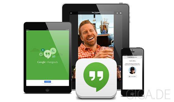 Hangouts: Googles neue Messaging-App für iPhone und iPad verfügbar