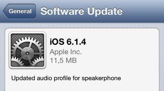 iPhone 5: iOS 6.1.4 bringt neues Audio-Profil für Lautsprecher