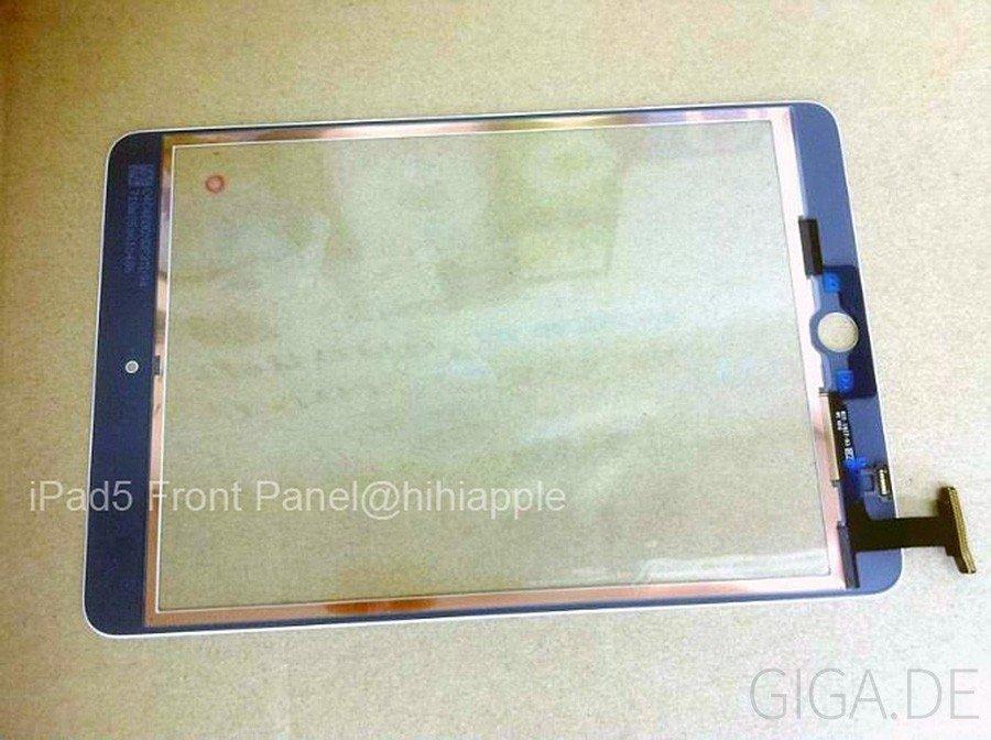 Angebliches Front-Glas-Panel des kommenden iPad 5