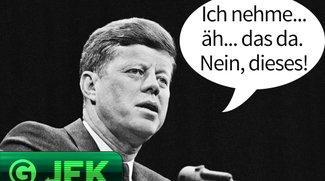 JFK: Smartphone-Suche ist Zeitverschwendung
