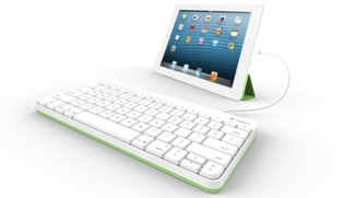 """Kabeltastatur fürs iPad von Logitech: """"Old School""""-Technik für die Schule"""
