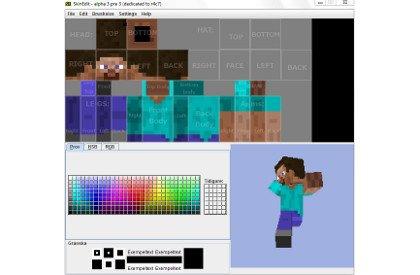 Minecraft Skinedit