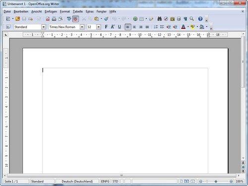 OpenOffice Portable Writer