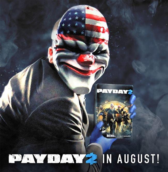 Payday 2: Erscheint im August auch als Retail-Variante