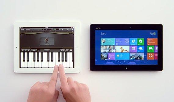 PC vs iPad: Microsoft attackiert das iPad mit neuem Windows-8-Werbespot