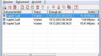 Dateien in einem PDF zusammenfügen