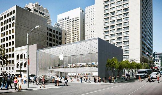 Apple baut neuen Flagship Store in San Francisco