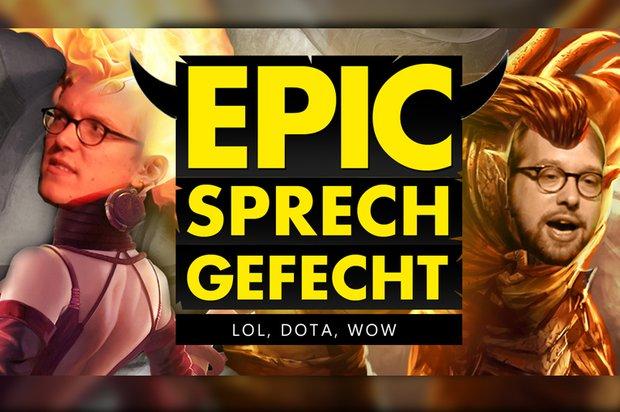 Epic Sprechgefecht: LoL vs. DotA vs. WoW