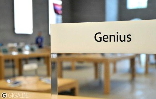 Apple Store im Test: Support an der Genius Bar