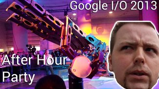 Google I/O After Hour Party mit Jon Bon Jovi, Metall Hand und Roboter