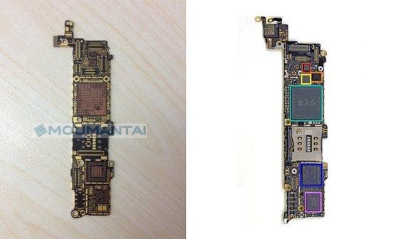 iPhone 5S: Bild des potentielles Logic Boards