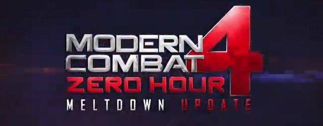 """Modern Combat 4 """"Meltdown"""" - Trailer erschienen"""