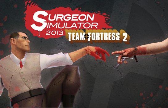 Surgeon Simulator 2013: Update führt Team Fortress 2 Charaktere ein